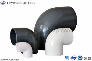 Good Quality UPVC CPVC Pipe Fitting Dn90 pictures & photos