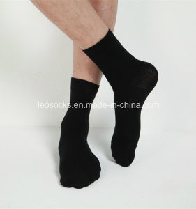 2016 New Style Men Cotton Black Men Socks pictures & photos