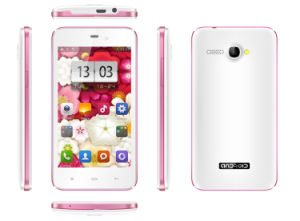 4.3inch IPS Mtk6572 Dual Core Android Smart GSM Mobile Phone (QK2) pictures & photos