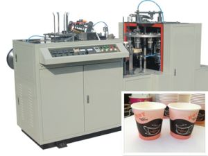 Automatic Tea and Coffee Cups Forming Machine