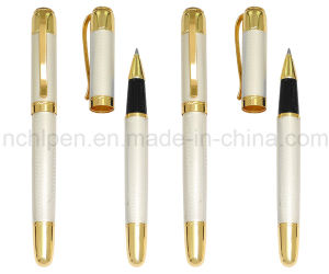 Promotional Luxury Business Gift Pen Gold Color Roller Pen pictures & photos