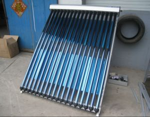 Vacuum Tube Solar Energy Collector with Reflector pictures & photos