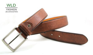 Classic and Basic Man Belt with Split Leather Linning M665 pictures & photos