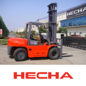 Hot-on-Sale! CE Approved 7 Ton Diesel Forklift Truck pictures & photos