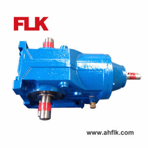 K...Ad Double Output Shaft Helical Motor Gearbox