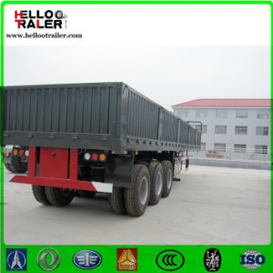 Tri- Axle Widely Used Side Wall Semi Trailer for Sale pictures & photos