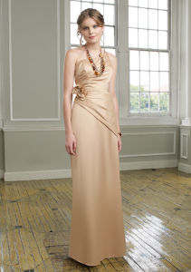 2015 Strapless Bridesmaid Gowns (BD3019) pictures & photos