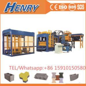 Qt10-15 Automatic Hydraulic Hollow Block Making Machine High Capacity pictures & photos