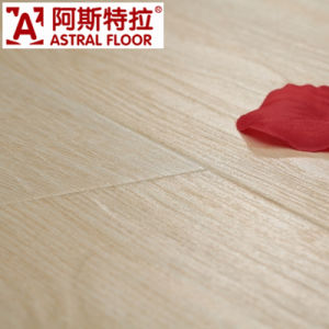 8mm Real Wood Texture (U-Groove) Laminate Flooring (AS0002-1) pictures & photos