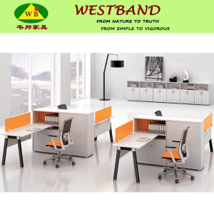 Newest Design High Quality Aluminium Panel Office Workstation (WB-Chris)