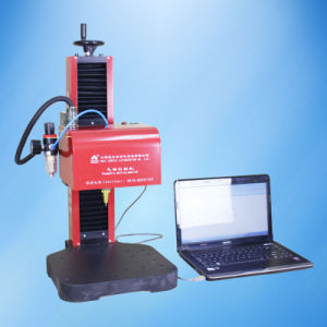 China Factory Pneumatic DOT Pin Marking Machine for Tag pictures & photos