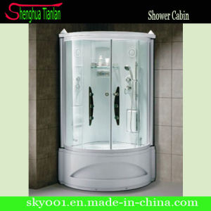 Prefabricated Corner Frosted Glass Steam Shower Bathroom (TL-8845) pictures & photos