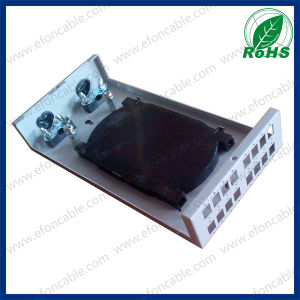 16 Core Wall Mount Fiber Optic Junction Box pictures & photos