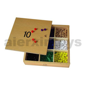 Montessori Educational Toy Gabe 10 (3cm) pictures & photos