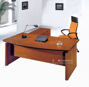 Wooden L-Shape Office Executive Manager Table Desk Furniture pictures & photos