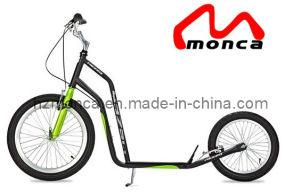 Adult Scooter Kick Scooter Foot Scooter with Black and Green Color pictures & photos
