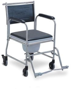 S. S Commode Wheelchair (SC-CW04(SS)) pictures & photos