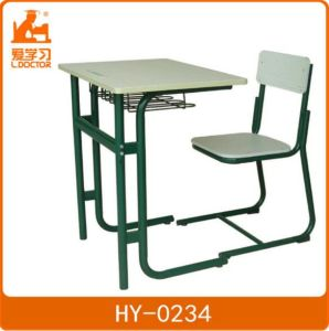 Single School Desk and Chair&Educational Furniture Sets pictures & photos