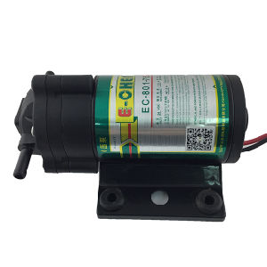 The Smallest Diaphragm RO Booster Pump 801 Series 50gpd - for 0 Inlet Pressure pictures & photos