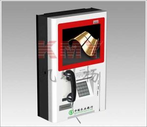 Custom Phone Booth Kiosk with Coin Operated pictures & photos