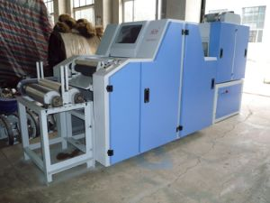 Small Carding Machine for Wool and Cotton Fiber pictures & photos