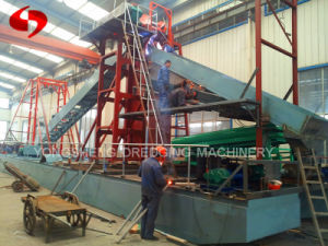 Gold Dredging Machine From Sand pictures & photos