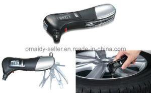 Multi Emergency Flashlight Tire Gauge Tool Kit
