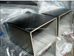 Black Square Pipe/Square Tube / Steel Pipe in Stock pictures & photos