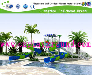 Factory Price Hotel Swimming Pool Water Slide (H13-001) pictures & photos