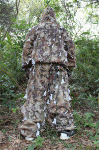 3D Leafty Camoufalge Jungle Hunting Ghillie Suit pictures & photos