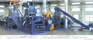 PET. PC. PP(Bottle, Flake) Recycling Line