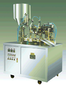 Cosmetic/ Toothpaste/ Skin Care Products Filling & Sealing Machine pictures & photos