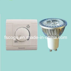 GU10 3*1W High Power LED Dimmable Spotlight(CG-GU10DSH3P1)
