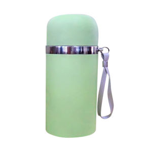 Green Color Vacuum Flask pictures & photos