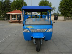 Open Cargo Diesel Chinese Waw Motorized Three Wheel Truck pictures & photos