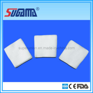 CE Standard Cotton Gauze Swab (Sterile and Non-sterile Available) pictures & photos