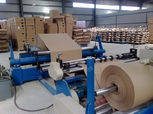 Honeycomb Paper Slitting and Rewinging Machine pictures & photos