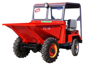 Hydraulic Type Site Dumper Dumper Truck (FC-18) pictures & photos