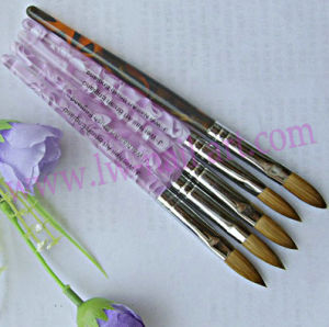 Professional Nail Art 100% Kolinsky Acrylic Brush 24# Nail Beauty Acrylic Nails