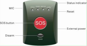 GSM Elderly Emergency Calling Alarm System with Bracelet Panic Button Yl-007eg pictures & photos