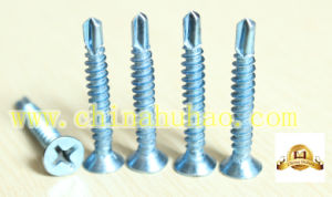Screw/Self Drilling/Csk Head Zinc Plated Self Drilling Screw pictures & photos