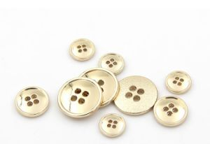 Custom Wholesale High Quality Garment Metal Button pictures & photos