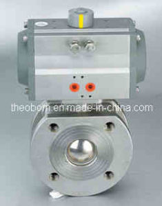Pneumatic Thin Ball Valve