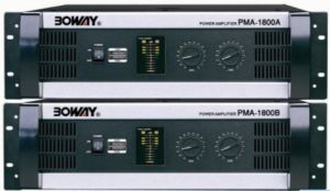 New Model Professional Amplifier with with Ce Certificate (PMA-1800A) pictures & photos