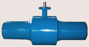 API6d Long Body All Welded Ball Valve