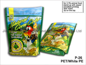 Pet Food Bag for Bird Side Gusseted Foil Bag pictures & photos