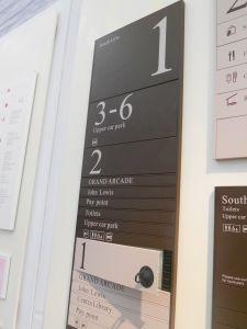 Neo Flat Modular Sign System pictures & photos