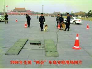 Fixed Under Vehicle Inspection System for Security pictures & photos