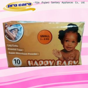 Africa Market Cheap Disposable Baby Diaper pictures & photos