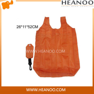 China Wholesale 210t Polyester Printed Promotional Shopping Vest Bag pictures & photos